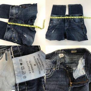Silver Jeans Jeans - Silver Jeans Womens Suki Surplus Capri Size W25